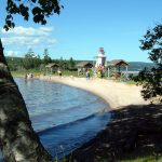 Kidston Island Lighthouse & Beach